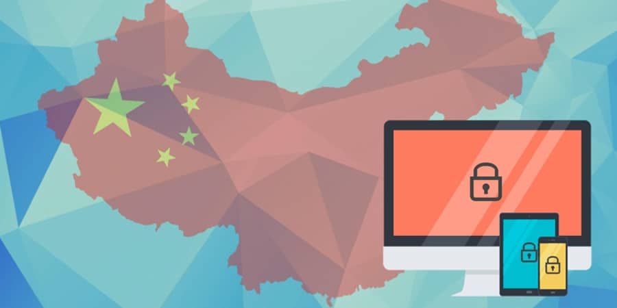 Get on the internet in China using a VPN