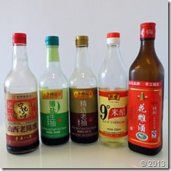 Typica sauces for Chinese home cooking