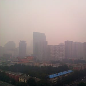 beijing smog air pollution